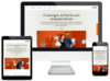 Website der first frame networkers ag im responsive Design